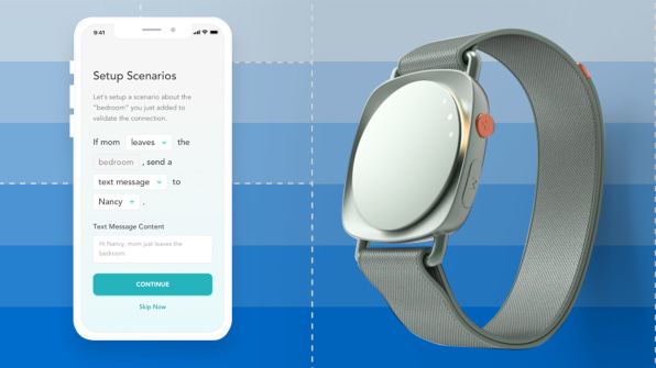 FastCompany Selects CareBand for the Best Student Design of 2021